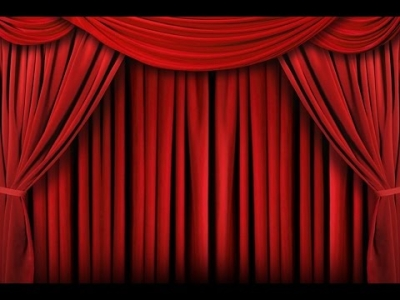 Red Curtain Red Curtain Backdrop Banner Decoration