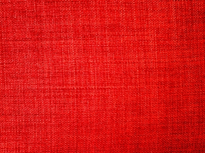Red Fabric Textured Background