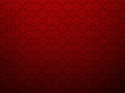 Red Textured Wall With Damask Design Background