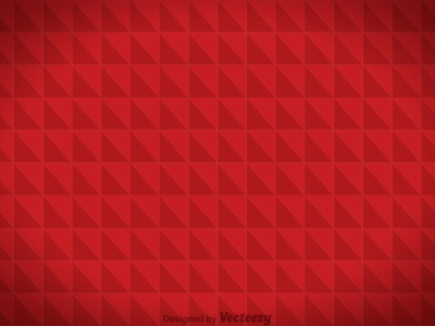 Red Triangle Abstarct Background Hd