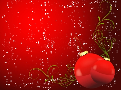Romantic Christmas Background