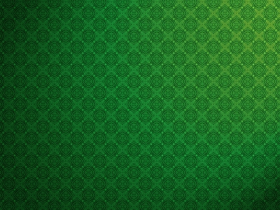 Romantic Green Pattern Background