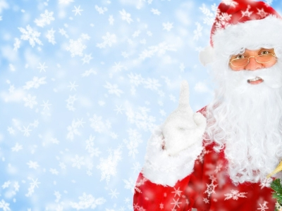 High-quality Santa Claus Background
