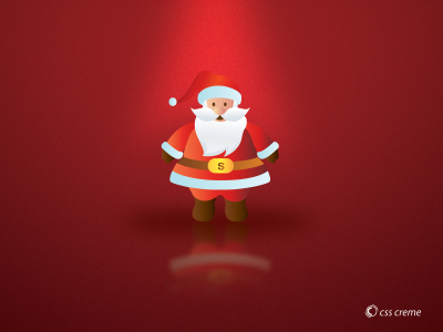 Background Santa Claus Powerpoint
