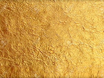shiny yellow leaf gold foil texture background #14823