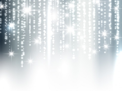 Silver Sparkle Background Vector