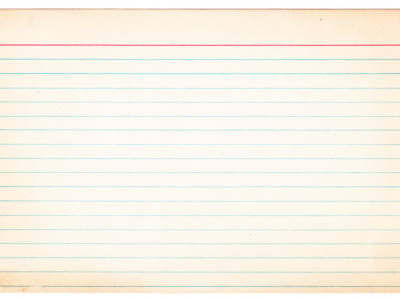 Simple Lined Paper Background