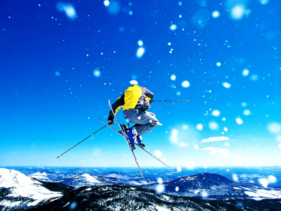 Skiing Winter Sports Hd Wallpaper