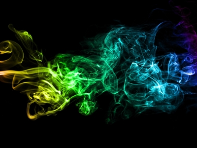 Smoke Texture Background Template