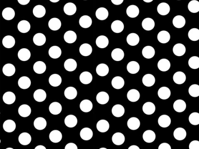 Solid Black White Polka Dots Wall Custom Photography Studio Backdrops Background