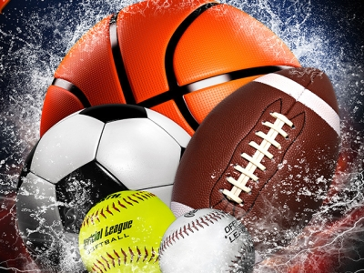 Splash Collection Sports Photo Templates Background