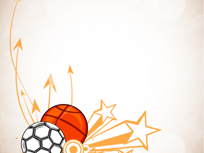 Sports Background Designs Clipart