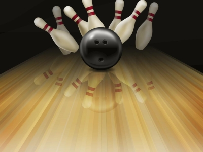 Sports Bowling Background