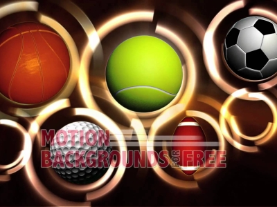 Sports Colorful Background