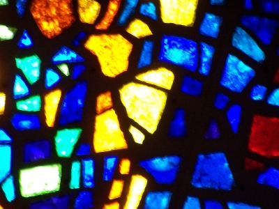 Stained Glass Worship Background