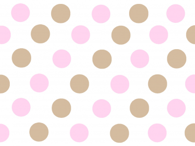 Star Class Pink Polka Dot Background