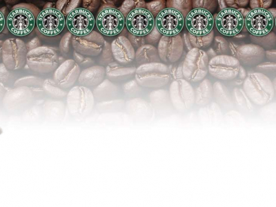 template presentation starbucks #139