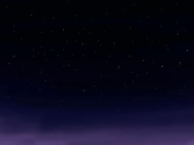 Starry Sky Background Clipart