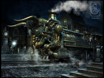 Steampunk Computer Wallpapers, Desktop Backgrounds