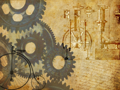 Steampunk Wallpaper Powerpoint