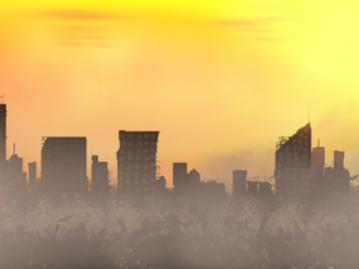 Sun Gun City Background