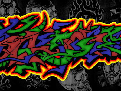 Tattoo Graffiti Wallpaper Image