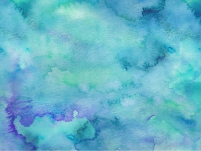 teal free vector watercolor background