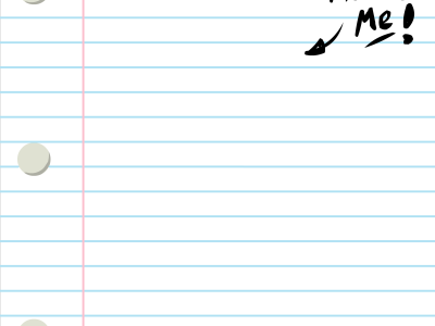 This Is Me Lined Paper Background