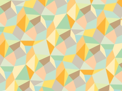 Trendy Abstract Geometric Pattern Background
