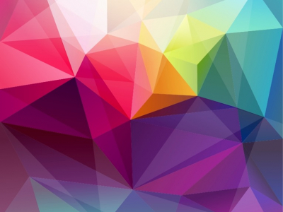 Triangle Abstract Retro Background