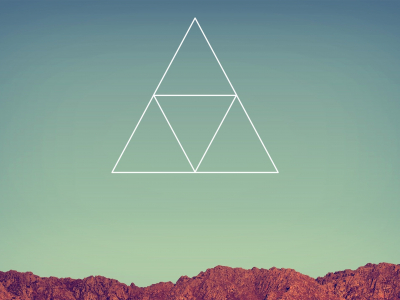 Tumblr Triangle Wallpaper Clipart