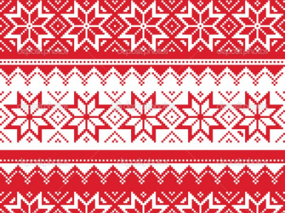 Ugly Christmas Sweater Pattern Wallpaper