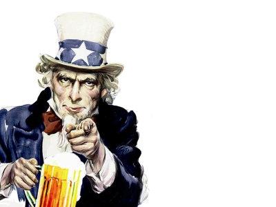 Uncle Sam Background Ppt