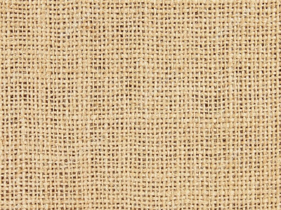 Up Of Natural Burlap Background