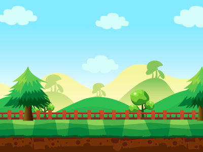 Vector For Kids Game Background