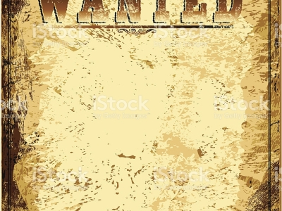 vintage wanted poster background #10732