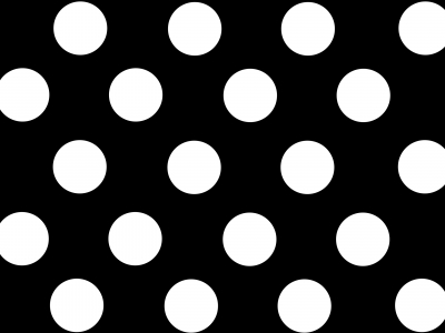 Wallpaper Polka Dots In Black And White