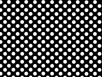 Wallpaper Polka Dots In Black And White Picture