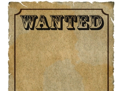 Wanted Poster Template Photos