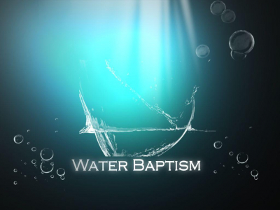 water baptism background #15588