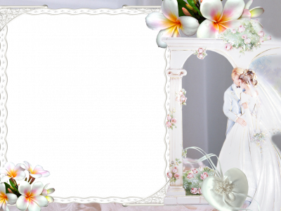 Wedding Marriage Frame Background