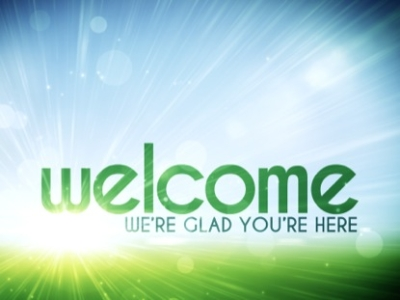 Powerpoint Welcome Background
