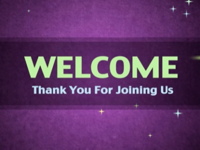 Welcome Template Ppt For