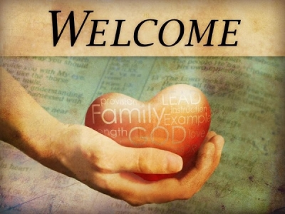 Free Best Welcome Background