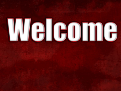 Ppt Template For Welcome