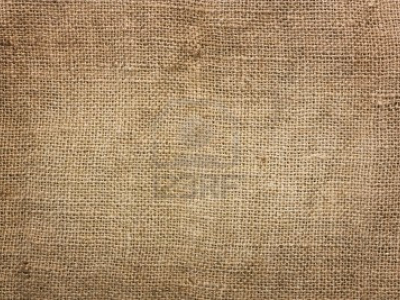 White Burlap Background