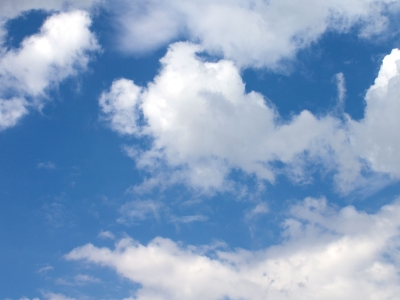 white clouds background #1786