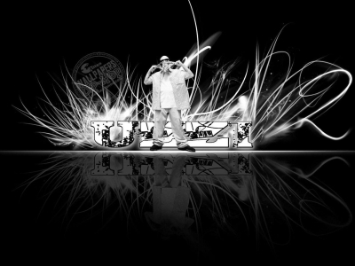 White Hip Hop Background