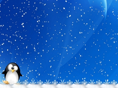 Winter Holiday Snowflake Background