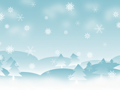 Winter Holidays Border Hd Wallpaper
